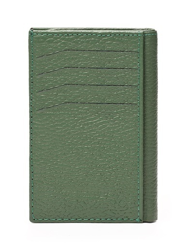 Deri Company Cüzdan Yeşil